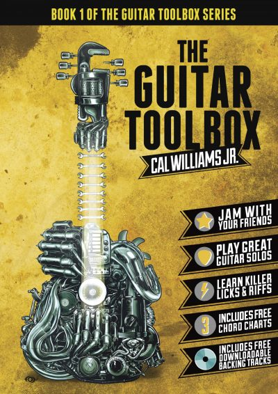 A4 The Guitar Toolbox COVER